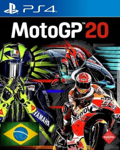 Motogp 20 Ps4 1 Dublado Em Português