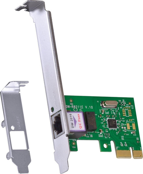 Placa De Rede Pci-e 10/100/1000 Prv1000e Com Low Profile
