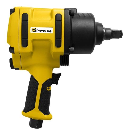 Chave De Impacto Profissional 3/4 185 Kgf 4600 Rpm Pressure