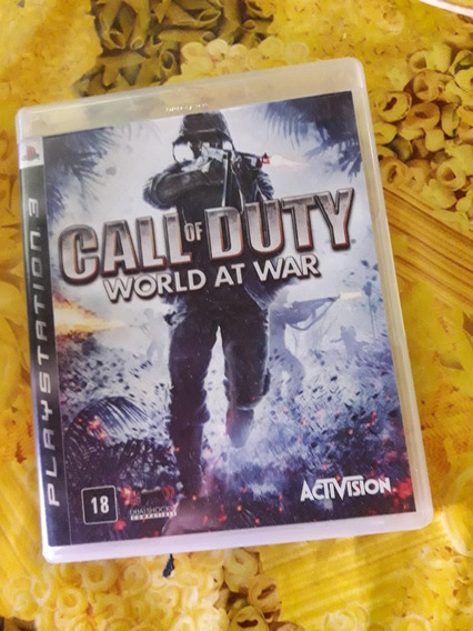Call Of Duty World At War Ps3 Mídia Física