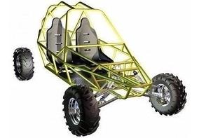 2 Projetos Kart Cross - Gaiola - Buggy - Trilha + 3 Brindes