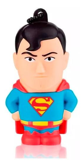 Pen Drive Dc Comics - Super Homem 8gb - Pd086