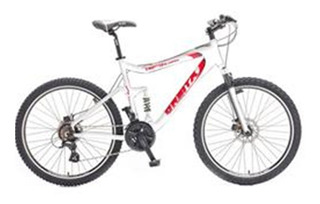 Bicicleta Órbita Rs3 Al Dupla Susp 24v Q19 Branco