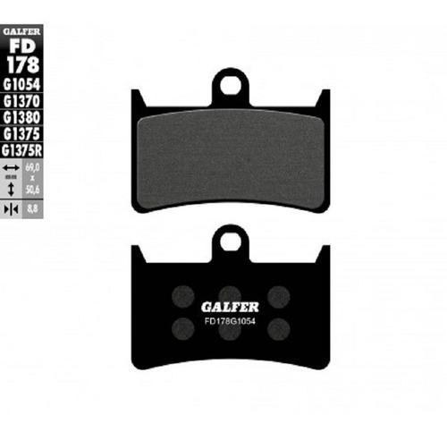 Pastillas Freno Galfer Fd178 Yamaha Fz 1 6 8 / Zr Zs  Bt Etc