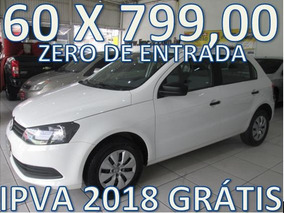 Volkswagen Gol 1.6 Flex Zero De Entrada + 60 X 999,00 Fixas