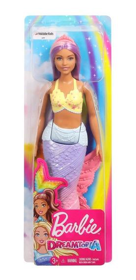 Boneca Barbie Dreamtopia Sereias Mermaid Fxt08 Mattel- Fxt09