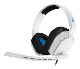 Auriculares Gamer Blanco Azul Logitech Astro A10 Pc Xbox Ps4
