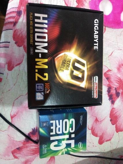 Processador I5 + Placa Mãe