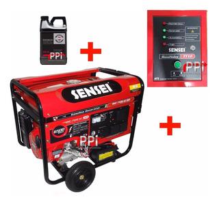 Grupo Electrog Generador 7500 + Tablero Encendido Automatico