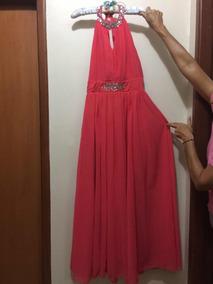 16d73e59162d Vestido De Fiesta Largo Cuello De Ojal Ropa - Ropa y Accesorios ...