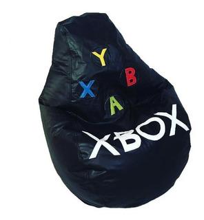 Sillon Puff Pera Xbox Soporta Hasta 80 Kg