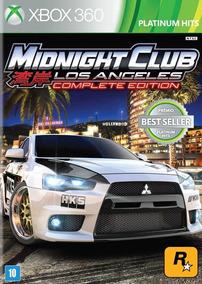 Midnight Club Los Angeles Comp Edition Xbox 360 - Destravado