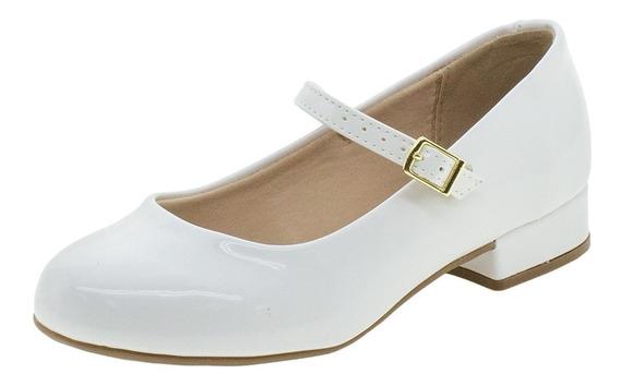 Sapato Infantil Feminino Molekinha - 2528101 Branco