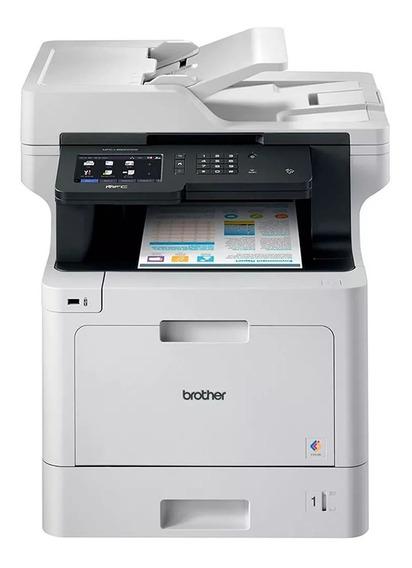 Impressora Multifuncional Laser Colorida Mfc-l8900cdw Duplex Automatico Rede Wifi Nota Fiscal Garantia Brother Mfc L8900