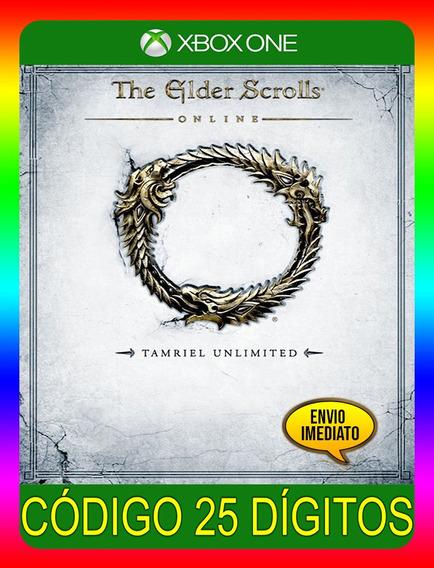 The Elder Scrolls Tamriel Xbox One - 25 Dígitos (envio Já)