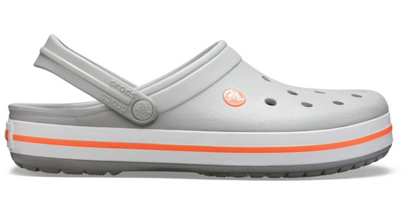 Crocs Crocband Light Grey/bright Coral