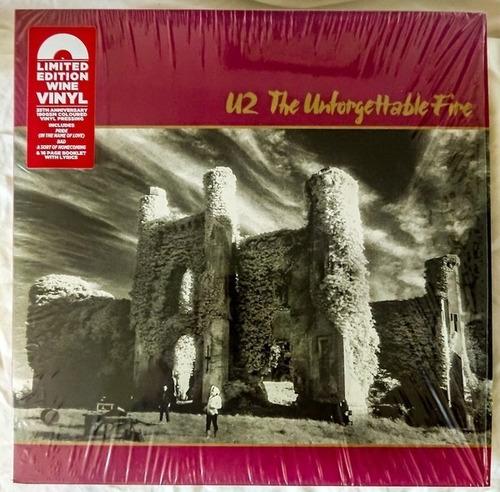 U2 - The Unforgettable Fire (vinilo Color Nuevo)