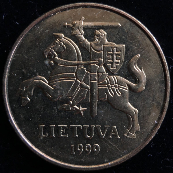 Lituania, 50 Centu, 1999. Brillante Sin Circular
