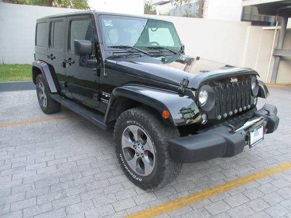 Jeep Wrangler 2016 3.6 Unlimited Sahara 4x4 At