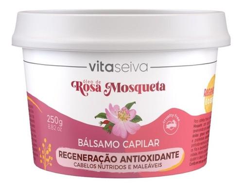 Imagem 1 de 1 de Balsamo Capilar Rosa Mosqueta 250g Lançamento Vita Seiva