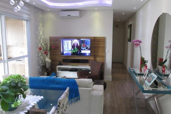 Apartamento Em Ponta Da Praia, Santos/sp De 78m² 2 Quartos À Venda Por R$ 540.000,00 - Ap284367