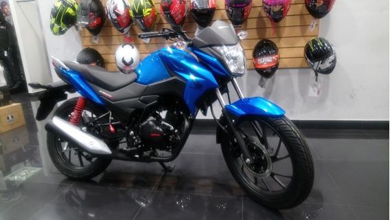 Honda Cb 125 F Twister Azul 0km Mejor Precio Expomoto