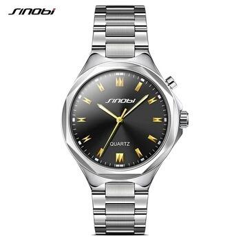 Relógio De Aço Masculino Prata E Dourados A Prova D