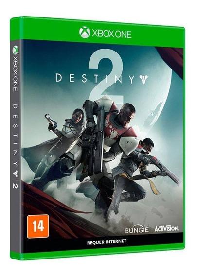 Destiny 2 Edição Day One Xbox One Mídia Física Novo Lacrado