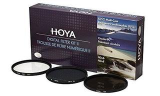 Juego De Filtro Digital Hoya 72mm (hmc Uv / Circular Polariz