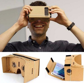 Assembling Virtual Reality Cardboard W/ Resi Pronta Entrega