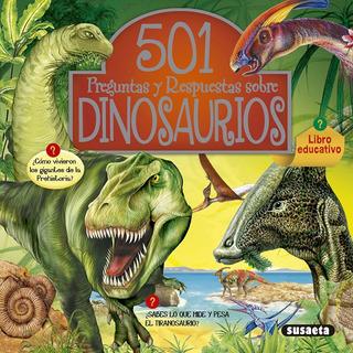 Libro. 501 Preguntas Y Respuestas Sobre Dinosaurios