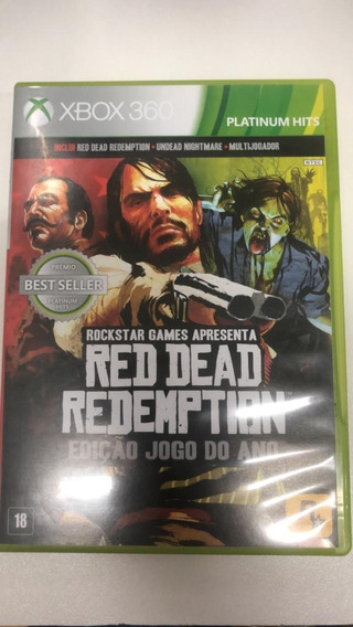 Red Dead Redemption Game Of The Year Edition Xbox 360 Origin