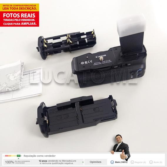 Battery Grip Original Canon Bge8 P/ T2i T3i T4i T5i Lpe8 Sj