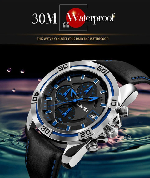 Relógio Masculino Skmei 9156 Prova D