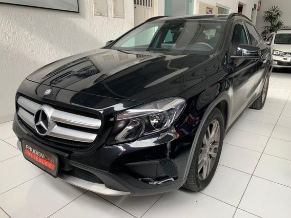 Mercedes-benz Gla 200 1.6 Style 2016 Turbo Gasolina Preto