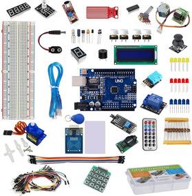 Kit Arduino Uno R3 Básico Iniciante Start Sensor + Brinde