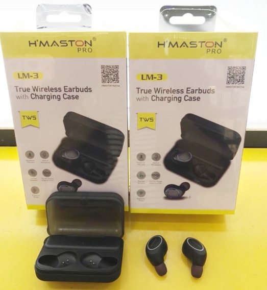 Fone De Ouvido True Wireless Earbuds H-maston Pro Lm-3