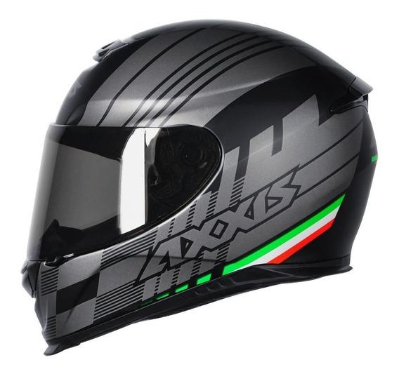Capacete Moto Axxis Mt Helmets Italy Matt Black Agv/ls2/bell