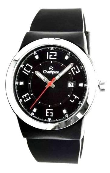 Relógio Champion Masculino Sport Pulseira Silicon Ca31597 Nf