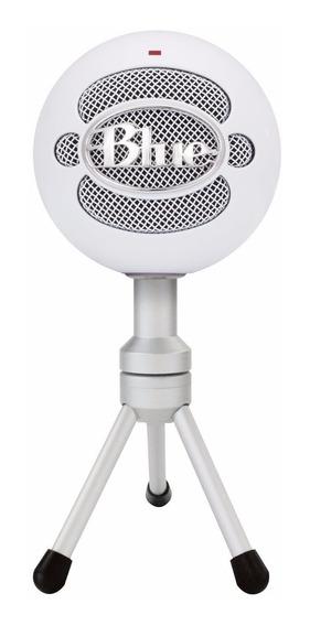 Microfone Usb Blue Snowball Ice Branco