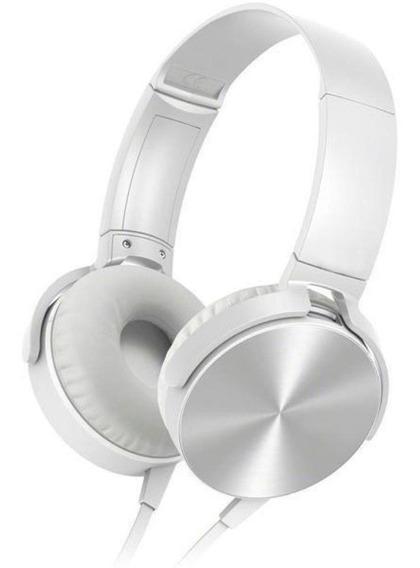 Fone De Ouvido Headphone Branco Hs208*