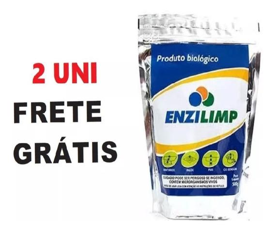 Enzilimp Biodegradador 500g - Frete Grátis - 2 Unidades