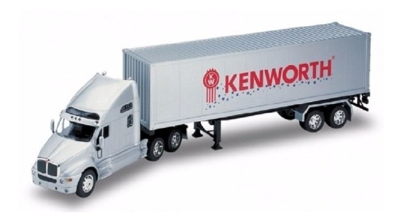 Miniatura Kenwoth T2000 Container Welly Escala: 1:32