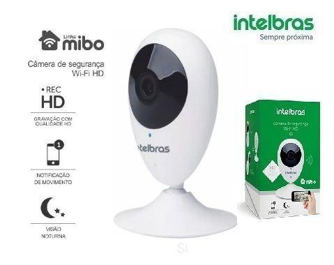 Câmera De Segurança Wi-fi Hd Ic3 Intelbras C/ Nota Fiscal