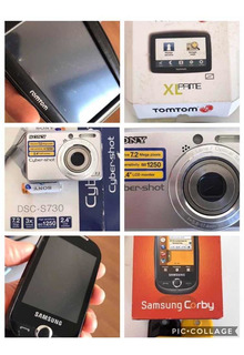 Lote Samsung + Sony + Tom Tom