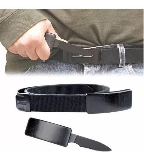 Cinturón Que Se Convierte En Cuchillo Correa Navaja Táctico