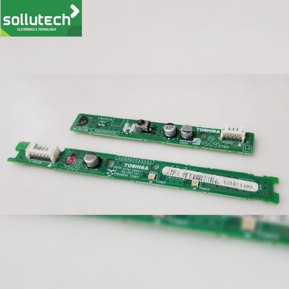 Teclado Sensor Da Tv Semp Lc4243w / V28a000xxx01 / Fa0004