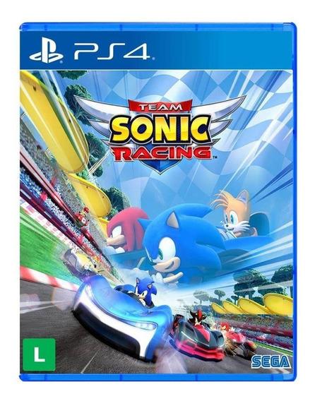Team Sonic Racing Ps4 Midia Fisica