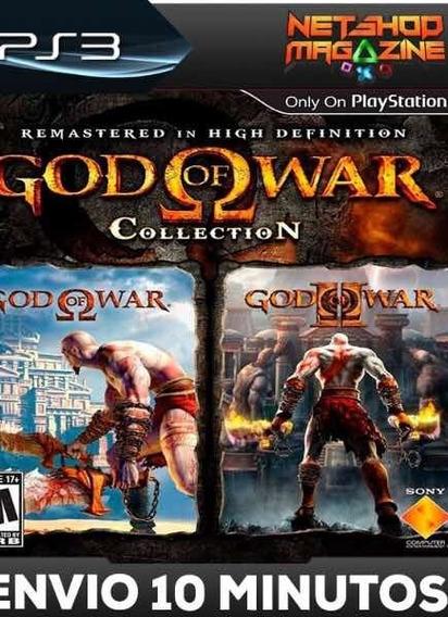 Coleção God Of War Psn Ps3