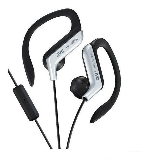 Fone De Ouvido Jvc Haebr80 Sport Clip Com Microfone